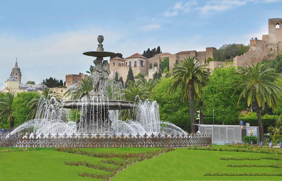 Mit dem Privatjet nach Malaga