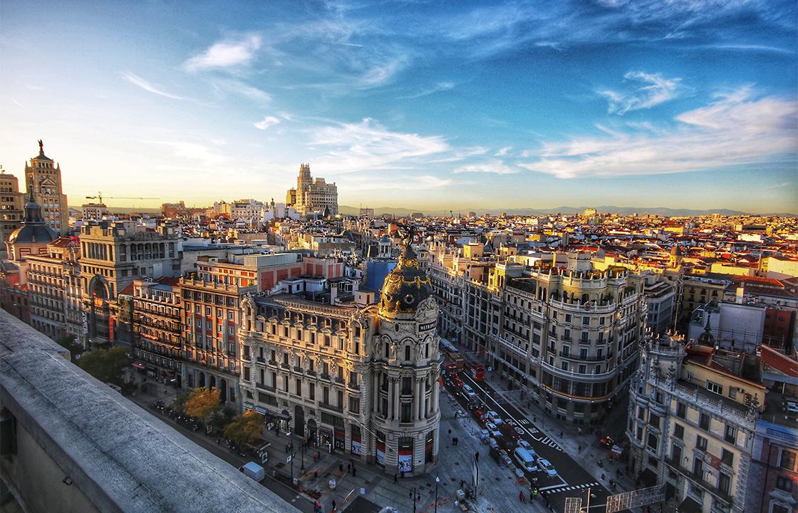 Mit dem Privatjet nach Madrid