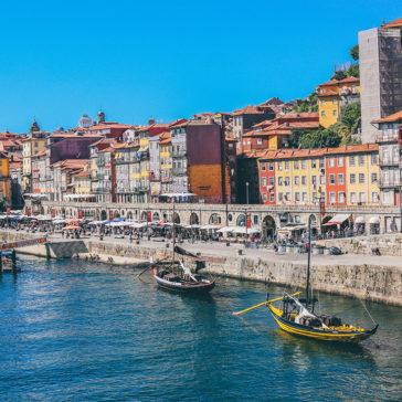 Mit dem Privatjet nach Porto