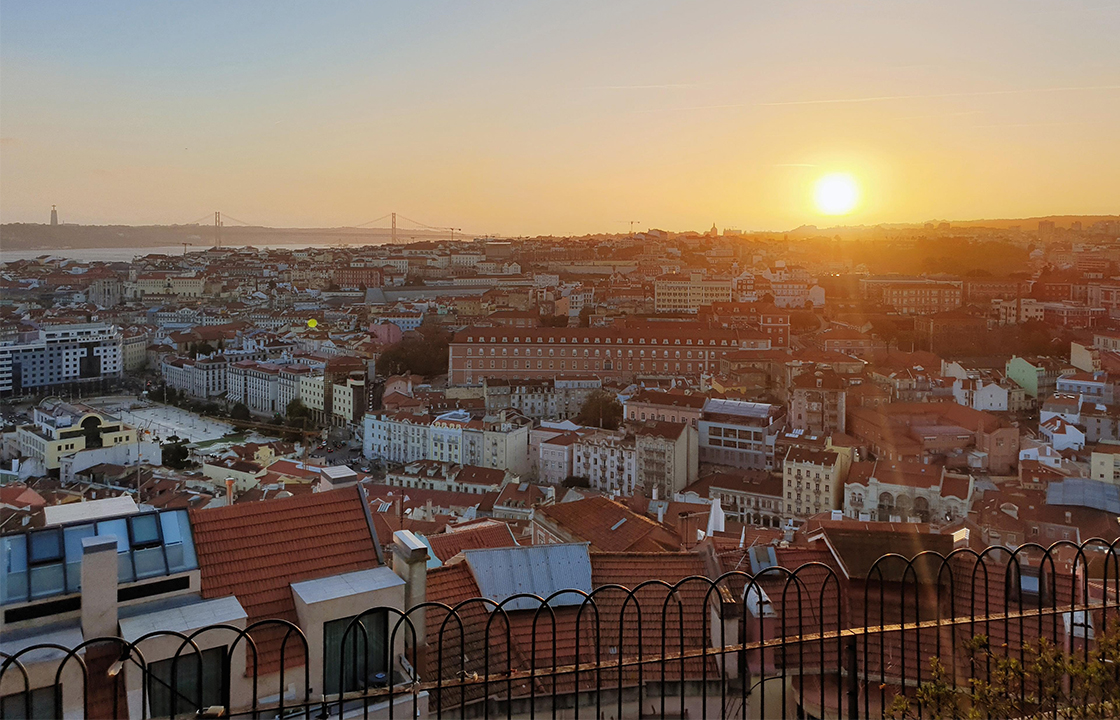 Mit dem Privatjet nach Lissabon