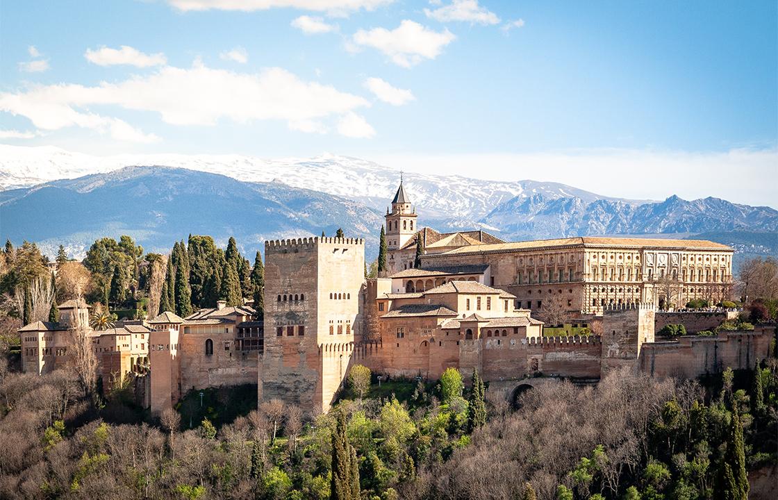 Mit dem Privatjet nach Granada