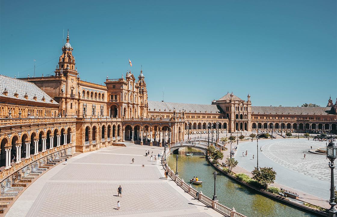 Mit dem Privatjet nach Sevilla