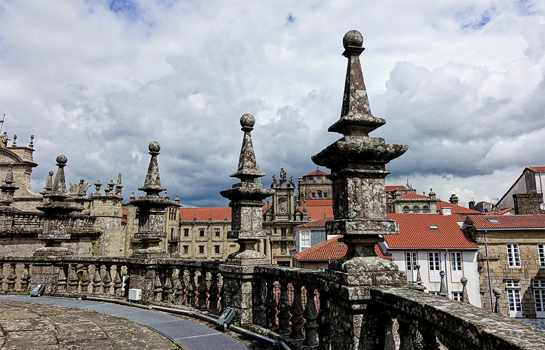 Mit dem Privatjet nach Santiago de Compostela