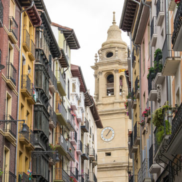 Mit dem Privatjet nach Pamplona